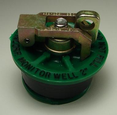 Locking Well Plug 1 1 4 Inch Green