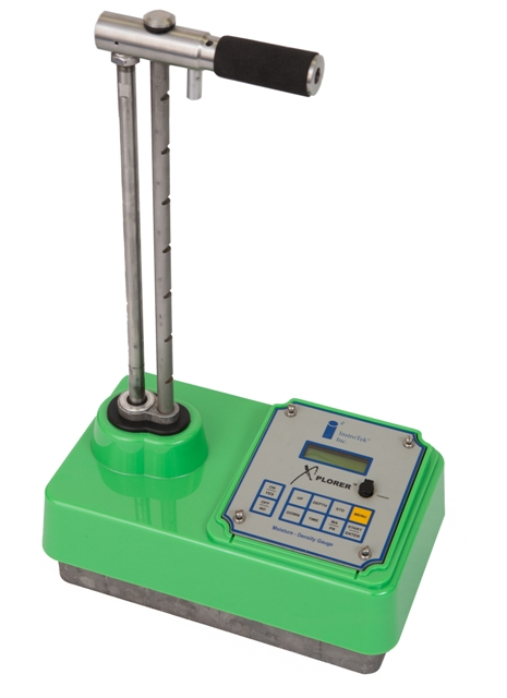 Nuclear Density Meter : Instrotek xplorer nuclear soil moisture density gauge